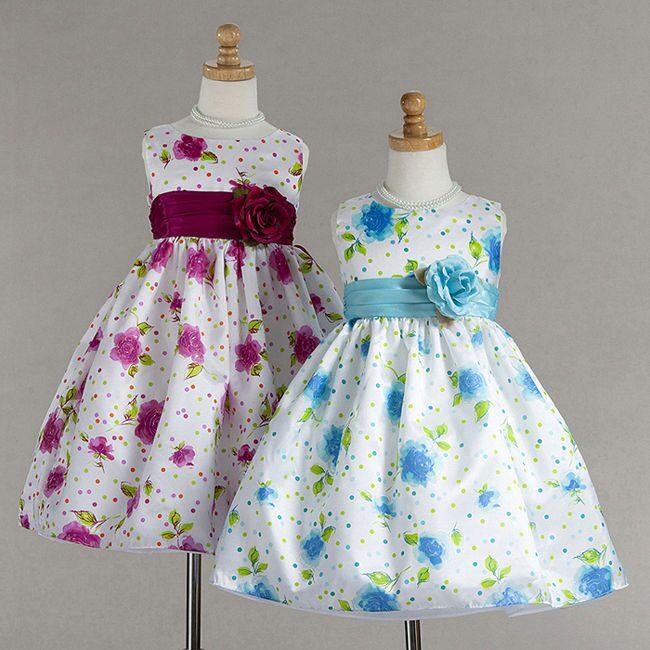 Из чего сшить детских нарядных платьях 42