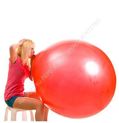 Как надуть шарик в шарике своими руками